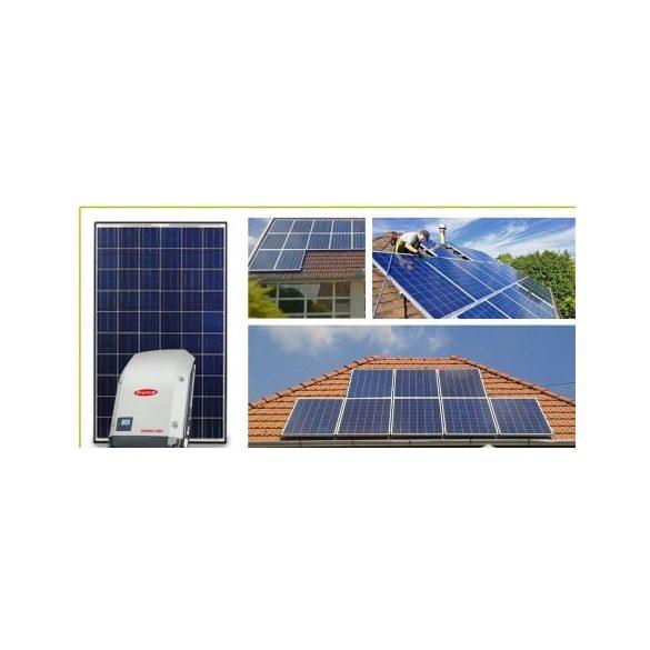 5,00 kWp hálózatra visszatápláló napelemes rendszer