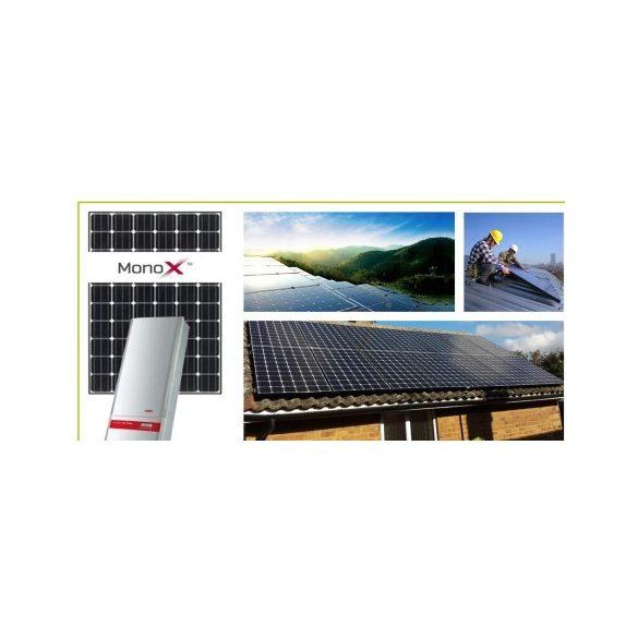 LG 8,32 kWp hálózatra visszatápláló napelemes rendszer