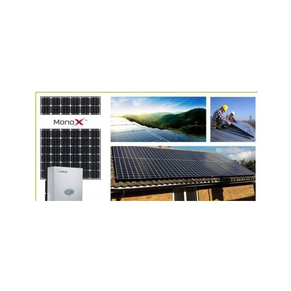 LG 2,34 kWp hálózatra visszatápláló napelemes rendszer