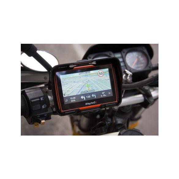 a8 Wayteq xRIDER motoros navigáció